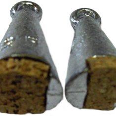 Peillood met kurk 2 stuks middel 10 gram