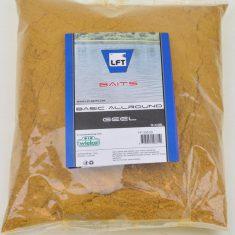 LFT wielco basic allround baits geel 1kg